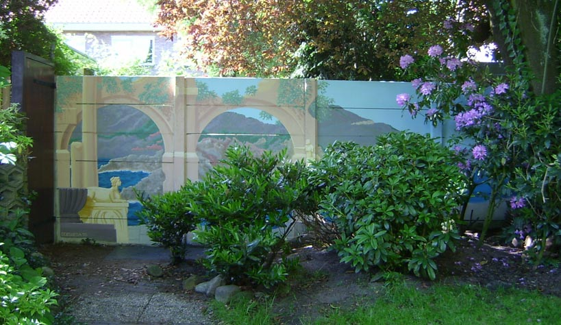 garden wall mural mural projects